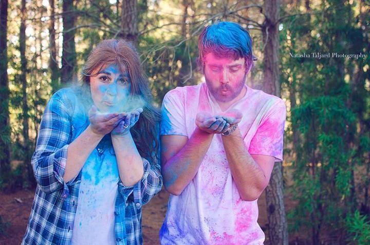 Couple shoot, paint fight, Forrest.