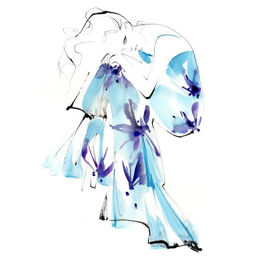 shu84: Yoco Nagamiya Fashion Illustrations