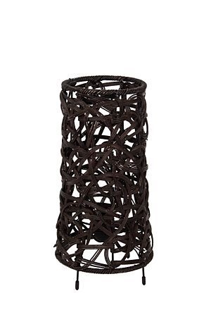 """Our spaghetti weave lamp is woven with natural fabrics, the spaghetti weave creates subtle shadows to complement a lounge setting. Measures 33cm in height.<BR><BR>Mr Price Home is NRCS (SABS) compliant.<BR><div class=""""pdpDescContent""""><BR /><b class=""""pdpDesc"""">Dimensions:</b><BR />L16.5xW16.5xH29 cm</div>"""