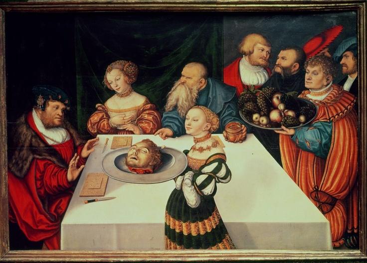 Lucas Cranach Judith...
