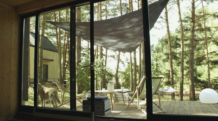 House by SVOBO. Modern barn.