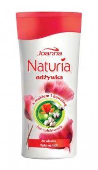 Odżywka bez spłukiwania z makiem i bawełną przyda się posiadaczkom farbowanych włosów wymagających nawilżenia i regeneracji.