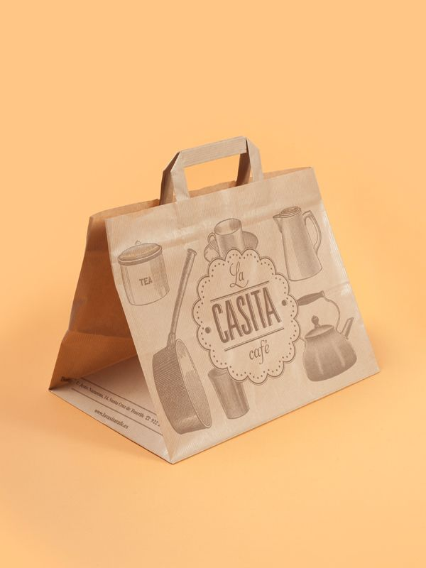 la casita café — corporate identity by el estudio™ , via Behance
