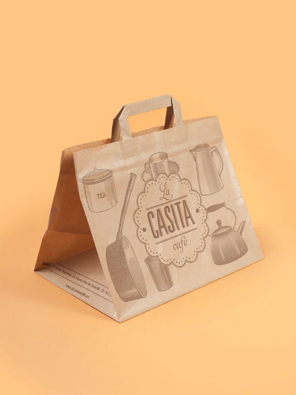 la casita café — corporate identity by el estudio™ , via Behance
