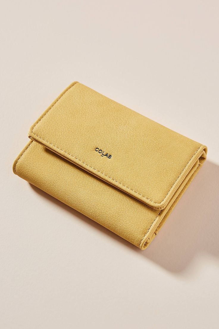 Lise Tri-Fold Wallet by Christopher Kon in Black Size: All, Bags at Anthropologie