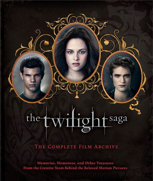 'The Twilight Saga: The Complete Film Archive' cover reveal! -- EXCLUSIVE