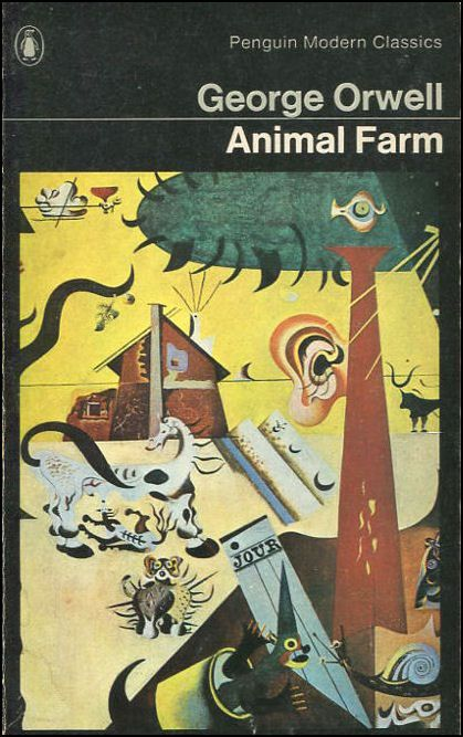 an analysis of the novel the animal farm by george orwell You've opened up a real pandora's box here okay, here we go animal farm, as  orwell mentions early on, is a 'fairy story' so, you're not supposed to view the.