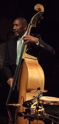 Ron Carter, an American jazz double-bassist legend!  Would love to hear a collabo with him and Esperanza Spalding