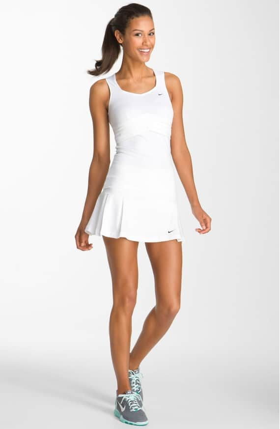 Product Image 3 White Tennis Dress Tennis Outfit Women Tennis Dress
