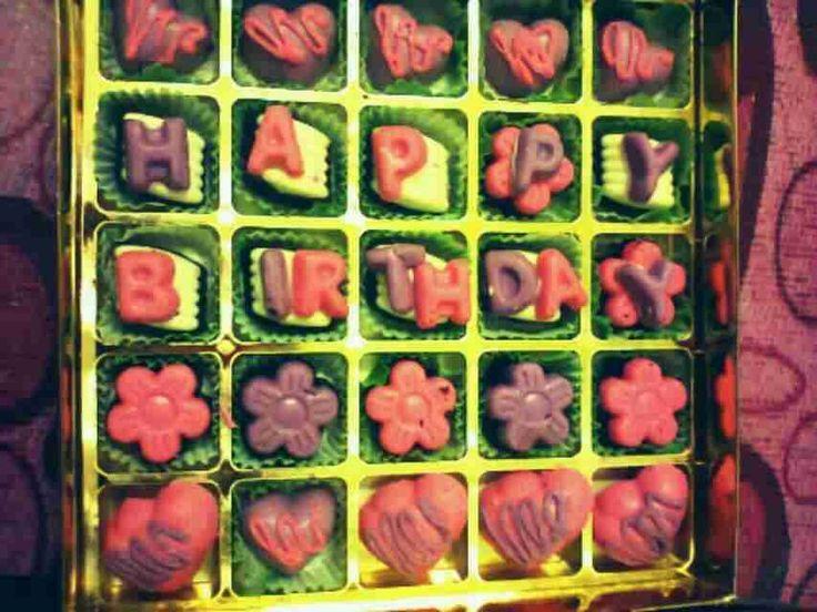 homemade coklat untuk birthday present