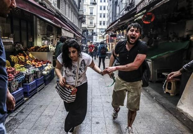 Dünya'nın gözünden Gezi'nin yıldönümünü | Son dakika, en son haber, yerel seçim 2014, chp, sözcü, | MuhalifGazete.com