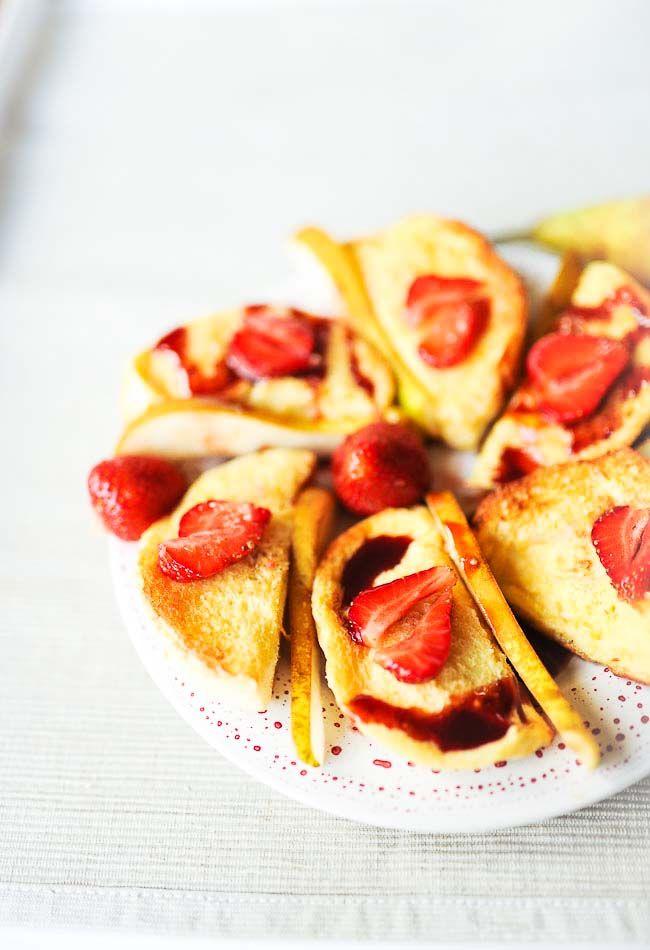 Słodkie tosty francuskie - pieczone, NIE smażone :) - MniamMniam.pl