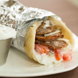 Greek Lamb Gyros with Tzatziki Sauce