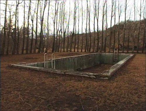 Old abandoned pool