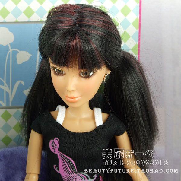 Лив куклы кукла парик аксессуары оригинальный черные волосы Даниэла прямые волосы-inDolls Аксессуары от игрушек и хобби на Aliexpress.com | Alibaba Group