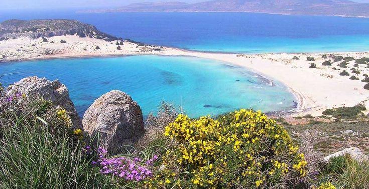 Simos Beach,  #Elafonisos #Greece