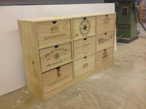 diy recycled, wine crates ,switzerland