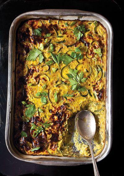 Persian Zucchini Frittata (Kuku Kadoo) Recipe | SAVEUR