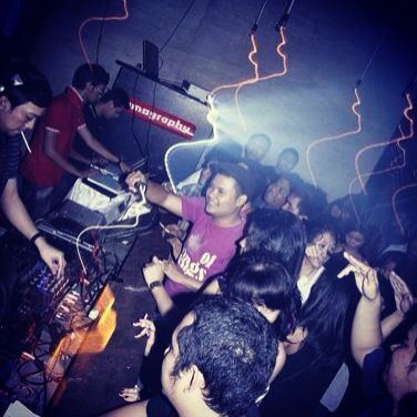 "one of gnarliest moments from Our signature event ""Don't Panic!"" back at mid 2009 at local bar in jakarta. Only served the finest stuff of underground house music. loud n proud!"