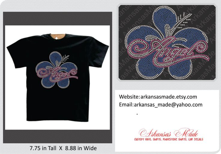 Angel flower rhinestone shirt, flower rhinestone shirt, angel shirt, rhinestone shirt, hibiscus flower shirt - pinned by pin4etsy.com