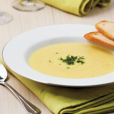 Crème de chou-fleur au parfum de curcuma - Entrées et soupes - Recettes 5-15 - Recettes express 5/15 - Pratico Pratique
