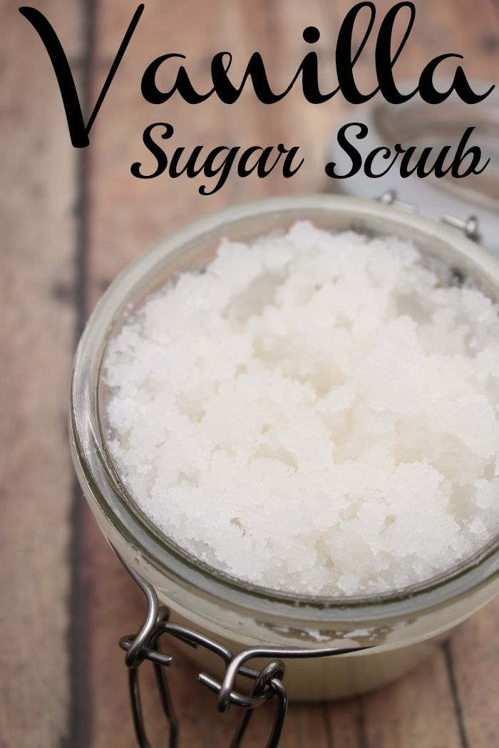Vanilla Sugar Scrub Recipe with Printable Labels - Perfect hostess or teacher appreciation gift!