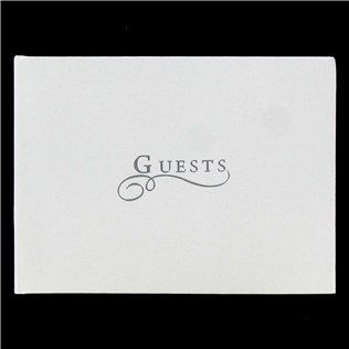 His & Hers White & Silver Guest Book | Shop Hobby Lobby