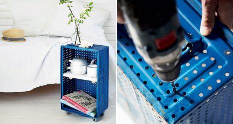 DIY: Fra kedelig kasse til cool sidebord - Boligliv