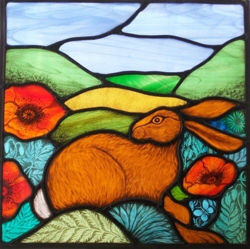 Stunning piece of stained glass.