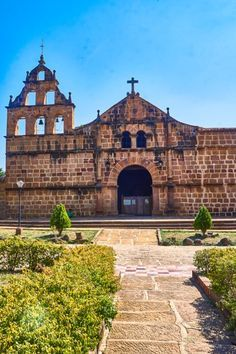 Church in Guane, Colombia | Barichara | Guane | Hiking in Colombia | What to Do in Colombia | Things to Do | What to See | Colombian Towns