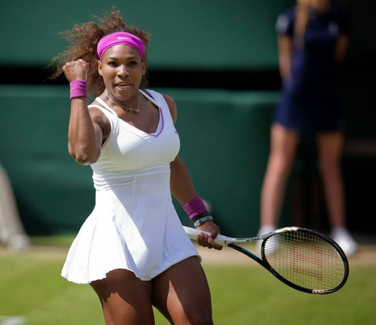 fail. #Wimbledon's dress code is a Wimbledon't. #tennis #sports #fashion #serena #federer www.thestyleref.com