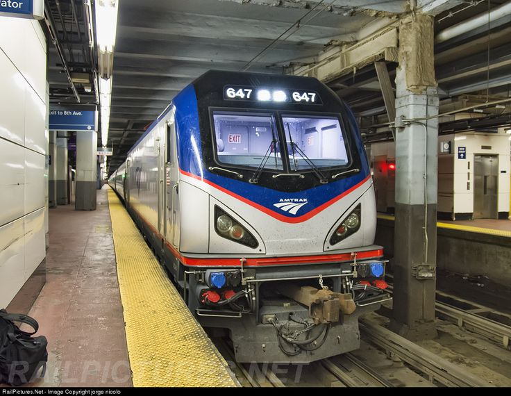 RailPictures.Net Photo: 647 Amtrak Siemens ACS-64 at New York, New York by jorge nicolo