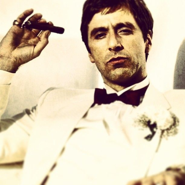 """Scarface (1983) - """"You need people like me. You need people like me so you can point your fuckin' fingers and say, """"That's the bad guy."""""""