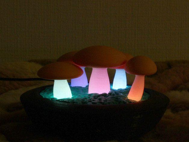 Kinoko Lamp by Tofuji