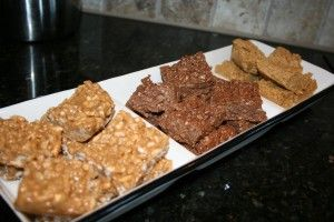 Arbonne Oatmeal Chocolate Peanut Butter (No-Bake) Protein Bar recipe ingredients: • 2 cups organic peanut butter • 1 3⁄4 cups honey or agave nectar • 2 1⁄4 cups arbonne essentials Chocolate Protein shake Mix powder* • 3 cups rolled oats www.BethCooper.myArbonne.com