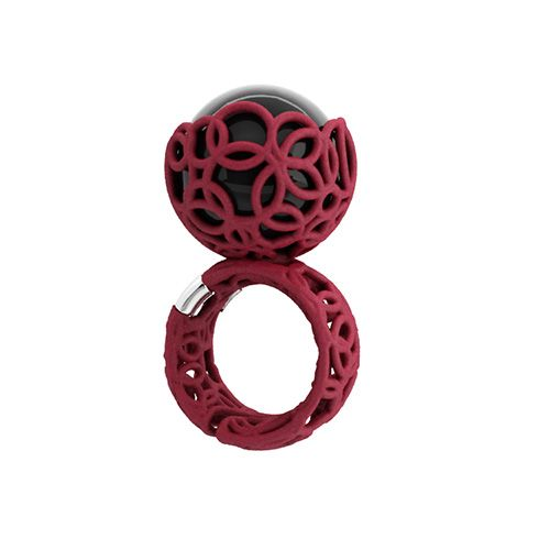 Anello Trama - Cerise - Falabrac New collection Trama Ring
