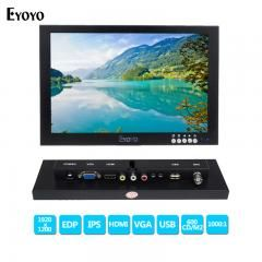 [ $60 OFF ] Eyoyo 10 Inch Ips Edp Cctv Monitors Hd 1920X1200 Fhd Display Lcd Monitor Video Audio Input With Vga Hdmi Bnc Usb Interface