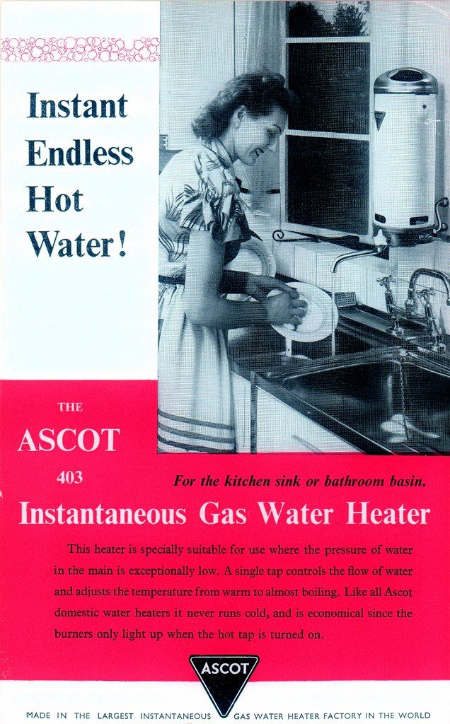 Ascot Gas Water Heater Instant Endless Hot Water Gas Water Heater Water Heater Heater