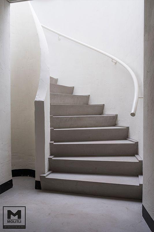25 beste idee n over trap ontwerp op pinterest trappenhuis ontwerp trappen en haus - Houten trapontwerp ...
