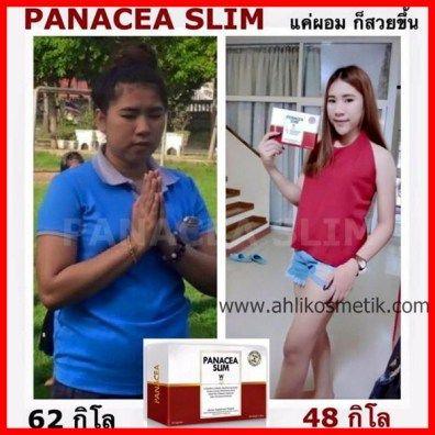 Testimoni Panacea Slim, Dari 62kg Turun ke 48kg