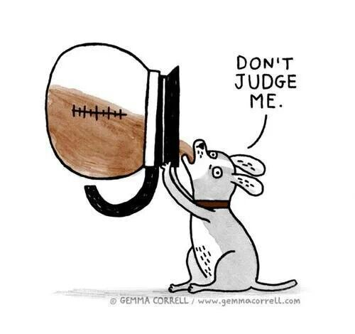 We would never judge a fellow coffee drinker! #MrCoffee #CoffeeHumor