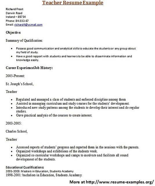 for more and various education resume examples visit wwwresume examplesorg resume writingwriting tipssample