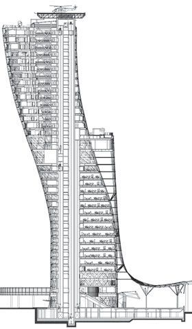 Capital Gate Tower Abu Dhabi Stadium ArchitectureDubai ArchitectureParametric ArchitectureArchitecture DiagramsModern