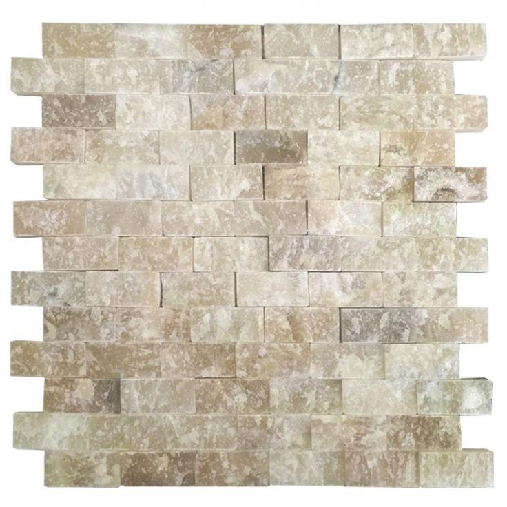 Onix 2.5X5 Fileli Patlatma Taş    www.tasdekorcum.com #dekor #patlatmatas #mozaik #dogaltas#naturalstonemosaic #naturalstone  Natural Stone Mosaic Natural Stone Wall Natural Stone Mosaic Subway Wall Tile Fileli Patlatma Taş Doğal Taş Patlatma Mozaik