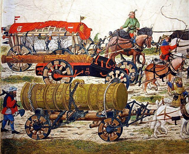 All sizes | Viena-Wien. Albertina. Exposició temporal. Maximilià I i l'art de l'època de Durer. El triomf de Maximilià I, Artilleria | Flickr - Photo Sharing!