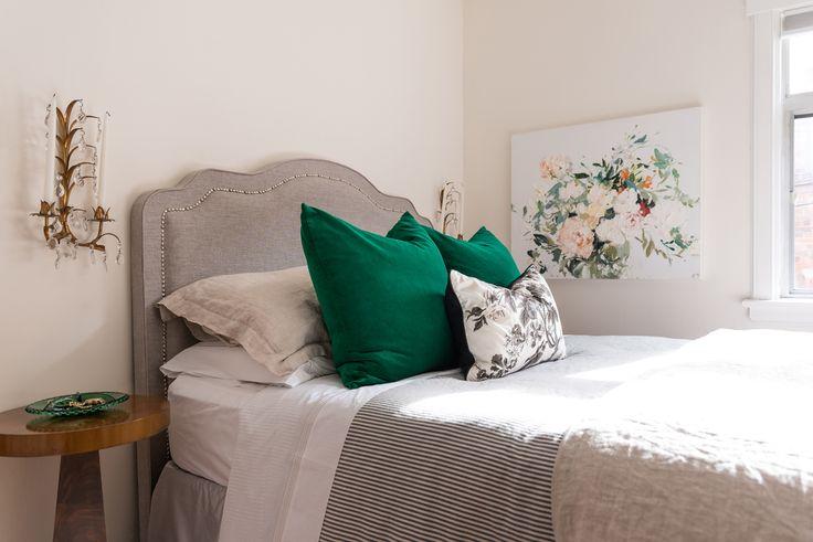 Toronto designer Tiffany Leigh's dreamy, feminine bedroom