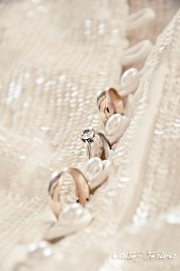 I lined up the bride and grooms rings into her dress <3 Weddings Plettenberg Bay | Christy Strever Photography