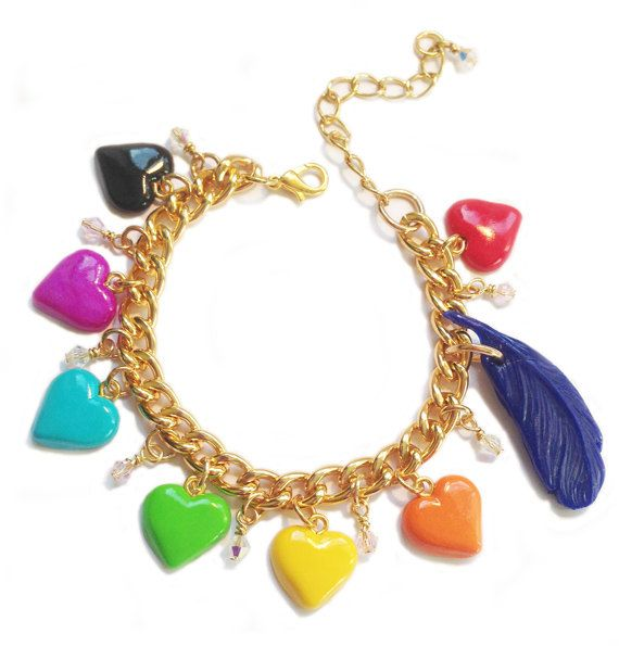 Harvest Moon Bracelet Heart Event Colours With by XKawaiiCutieX, £16.00 Relisted This is really cute!!