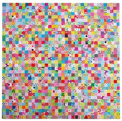 Learn tips and tricks for a making a classic quilt with neat squares and perfectly matched seams with this postage stamp quilt tutorial!