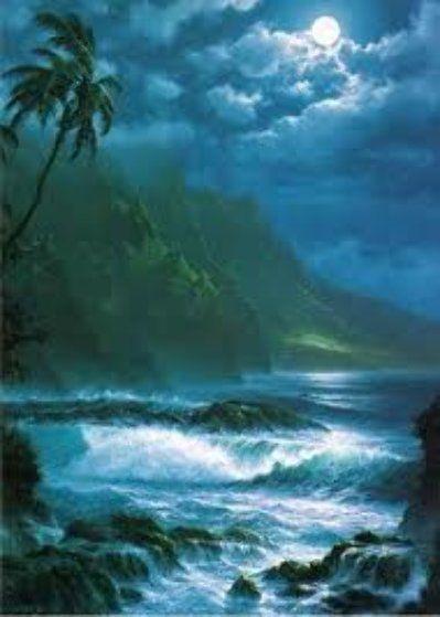 Moonlit Rhapsody, Hawaii 1993 by Roy Tabora